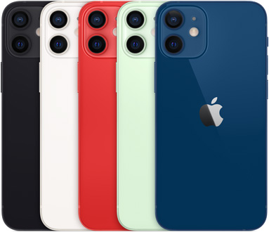 iPhone 12 Mini Colours