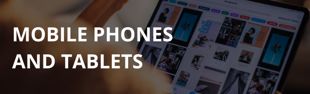 Mobile phones and tablet deals