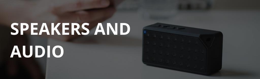 Speakers and audio deals