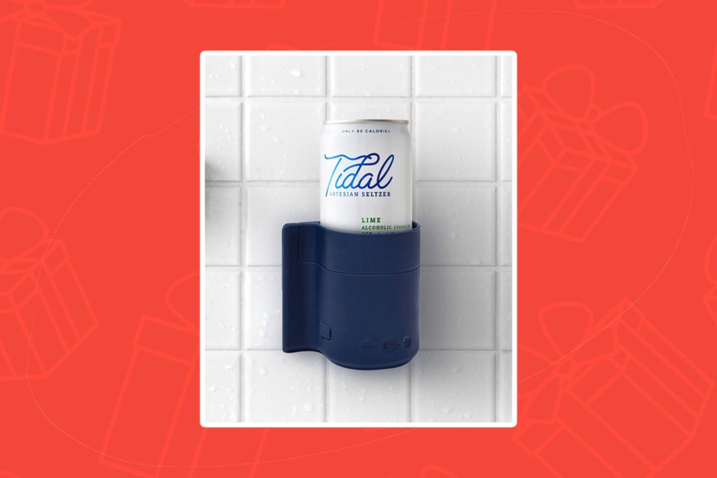 beer holder shower - kris kringle gift ideas