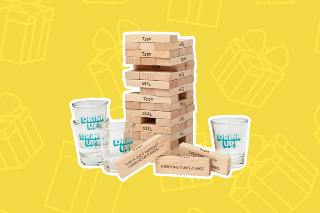 drinking tower - kris kringle gift ideas