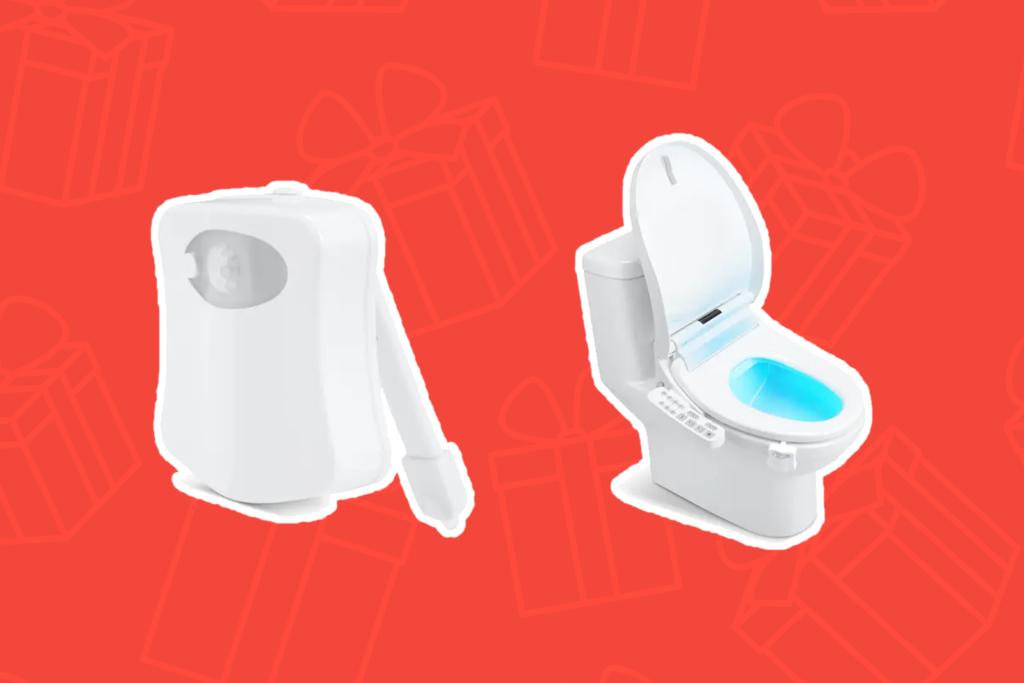 Motion Sensor Toiler Light - Best Gifts