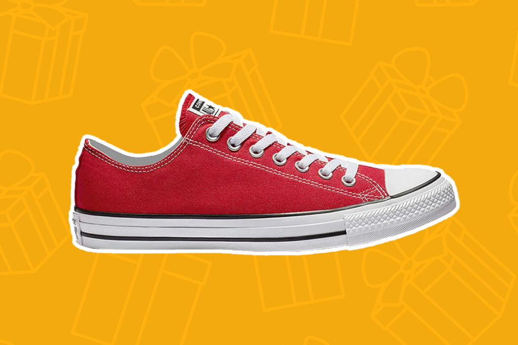 red converse chuck taylors - best gifts
