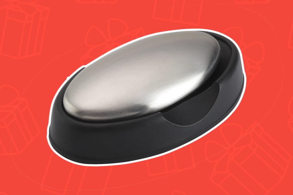 Finger Fresh Stainless Steel Soap Bar - Best Gifts