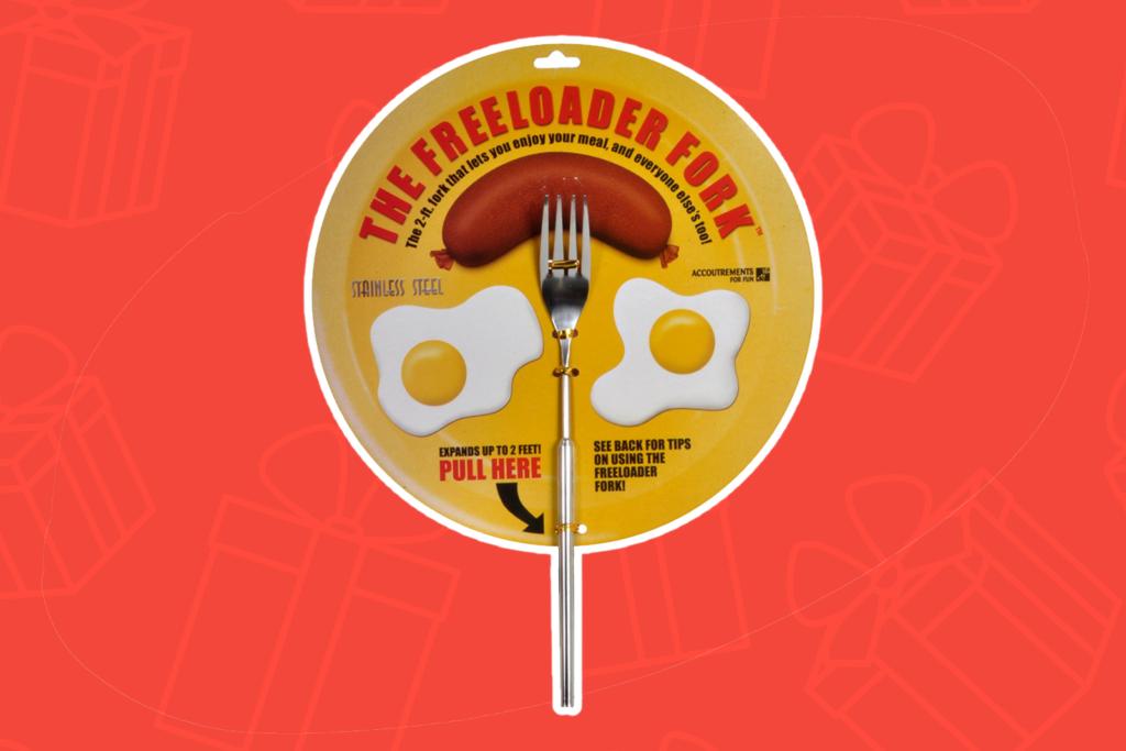 the freeloader fork - kris kringle gift ideas