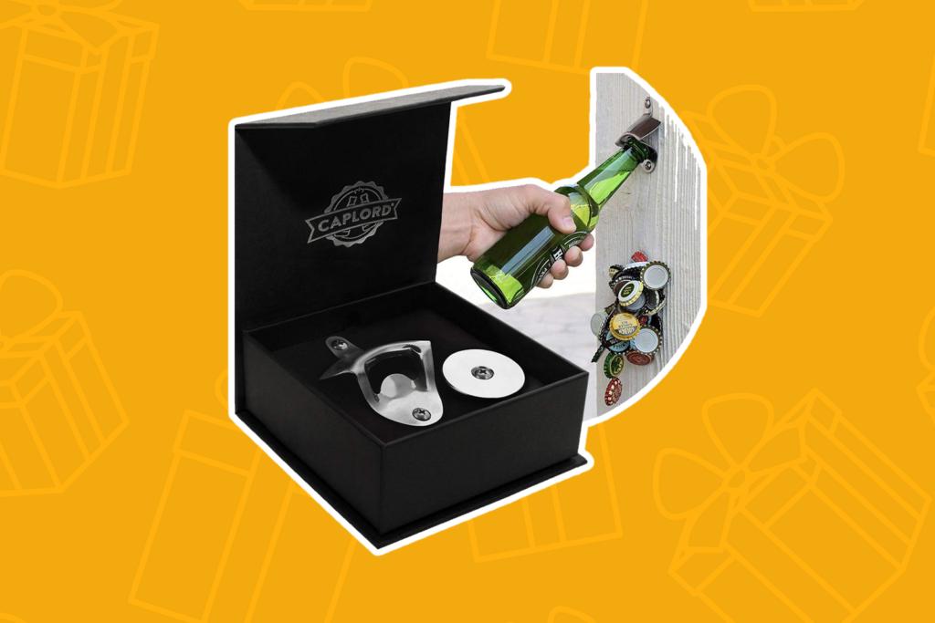 wall mounted bottle opener - kris kringle gift ideas