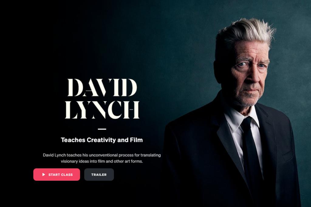 David Lynch - Masterclass