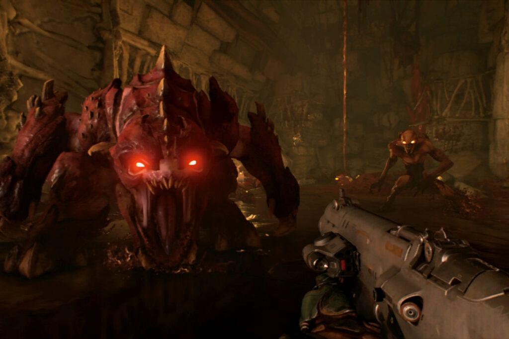 Doom - Best Switch FPS game