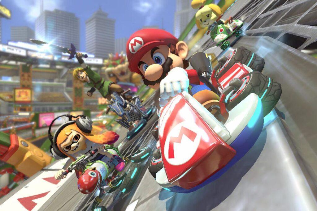 Mario Kart 8 Deluxe - Best multiplayer Switch game