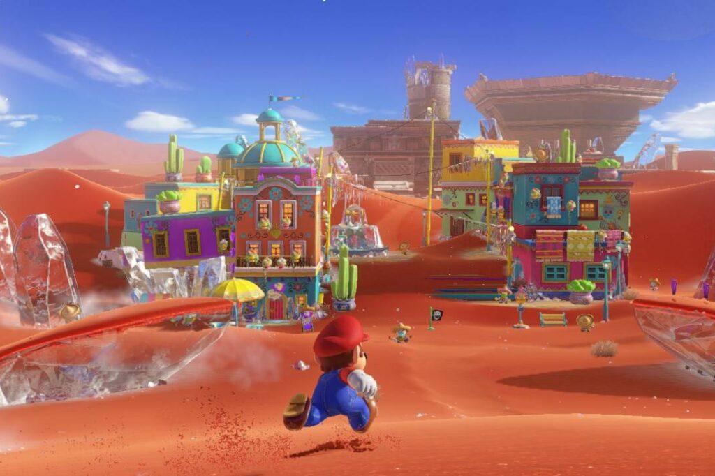 Super Mario Odyssey - Best Switch platformer game