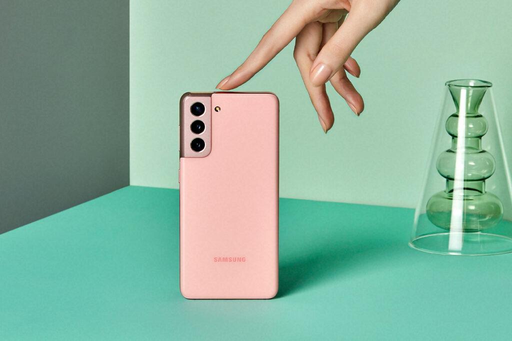 Galaxy S21 pink
