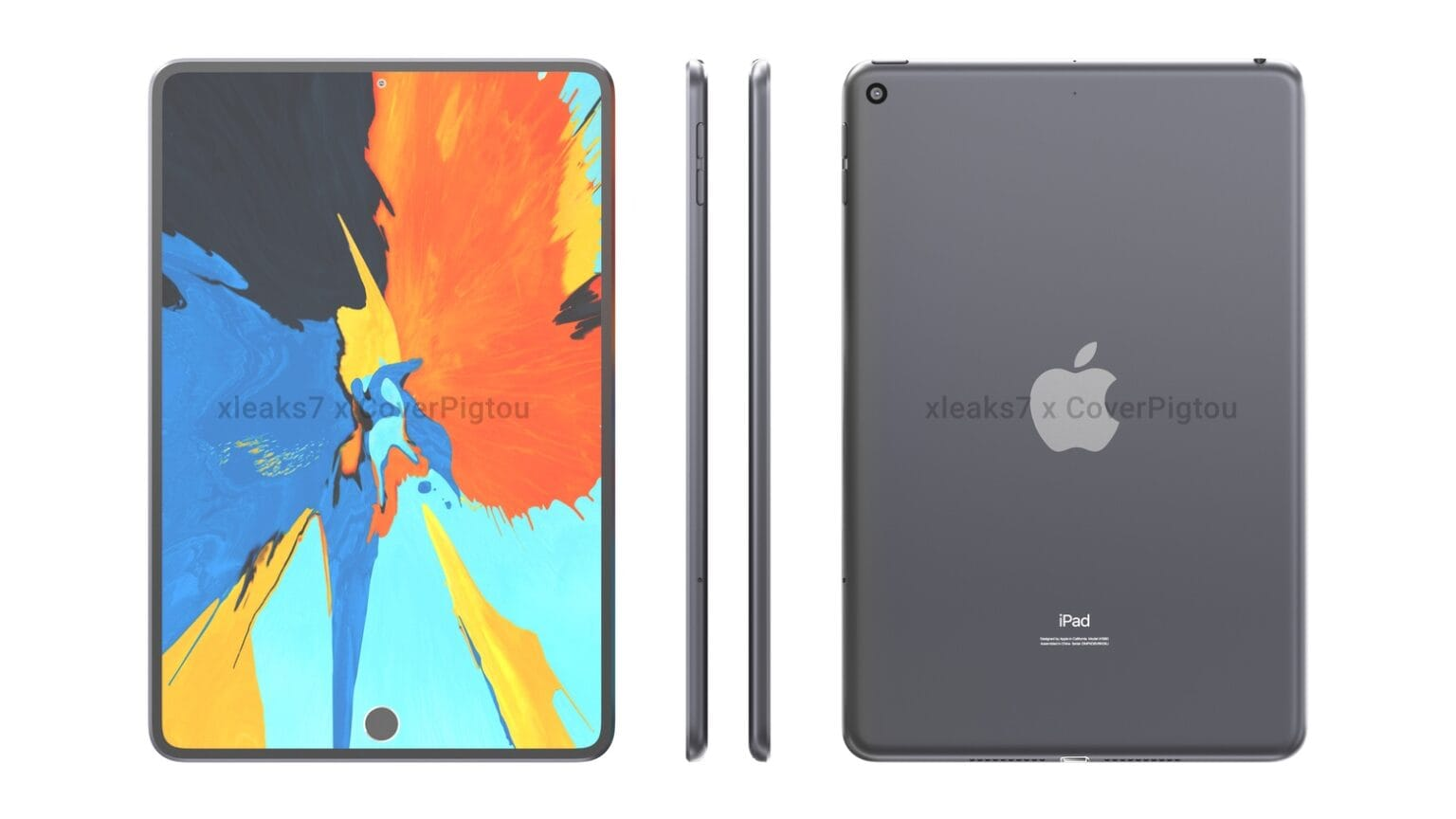 ipad mini render - to be announced at march apple event