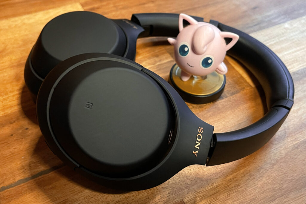 Sony WH-1000XM4 Wireless Headphones with Jigglypuff