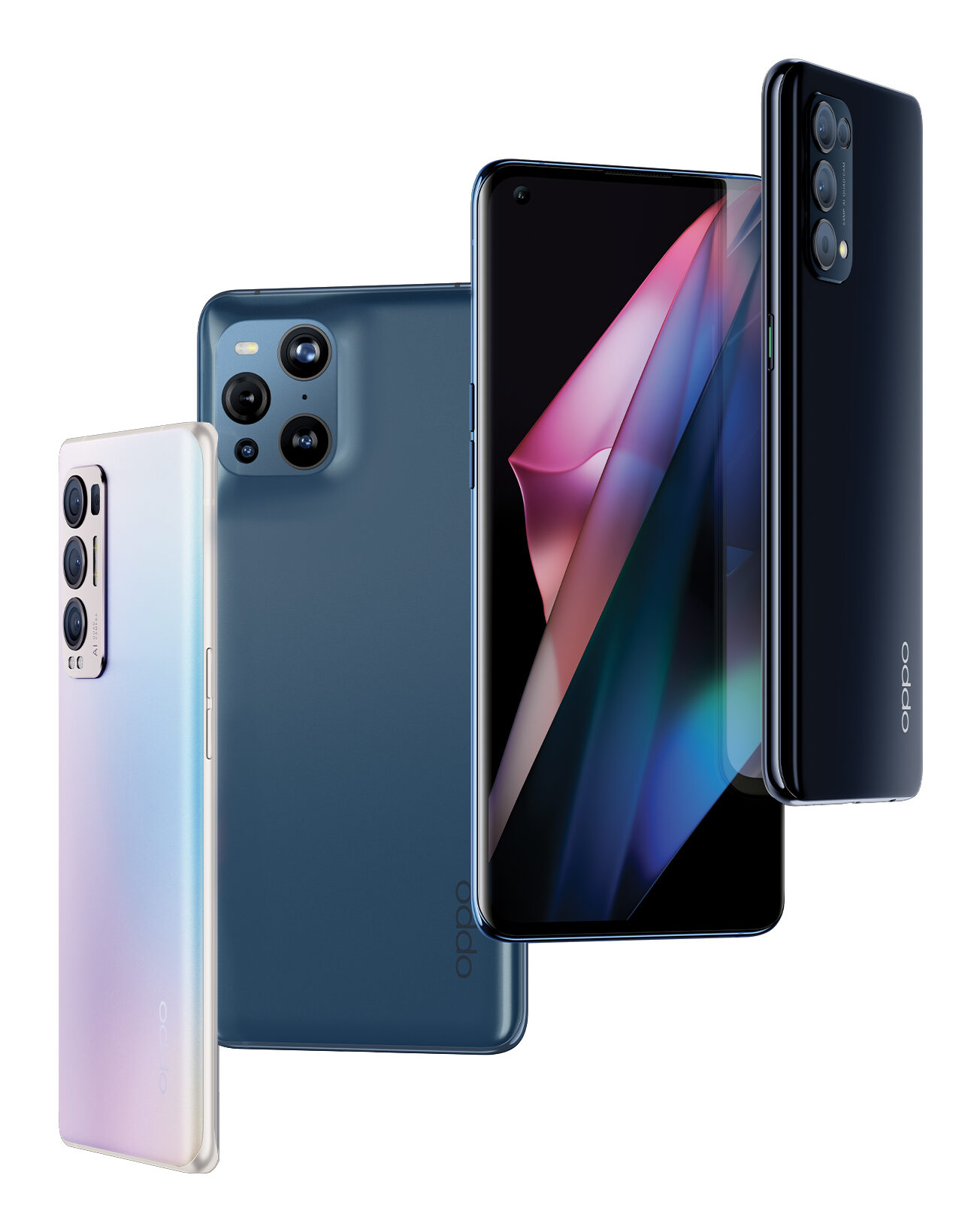 OPPO Find X3 Pro, Neo and Lite