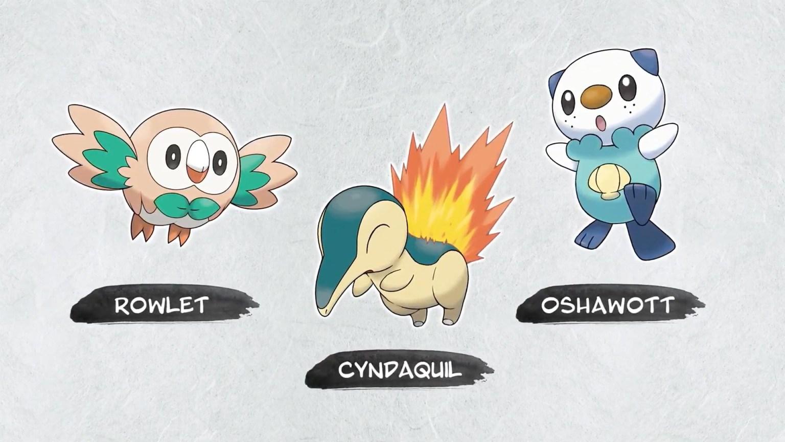 pokemon legends arceus starters