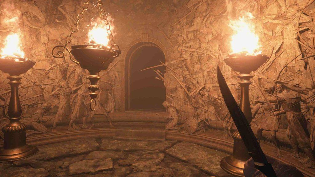 Resident Evil Village dungeon